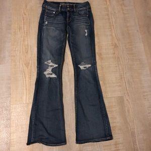 American eagle women's jeans Artist Flare 2